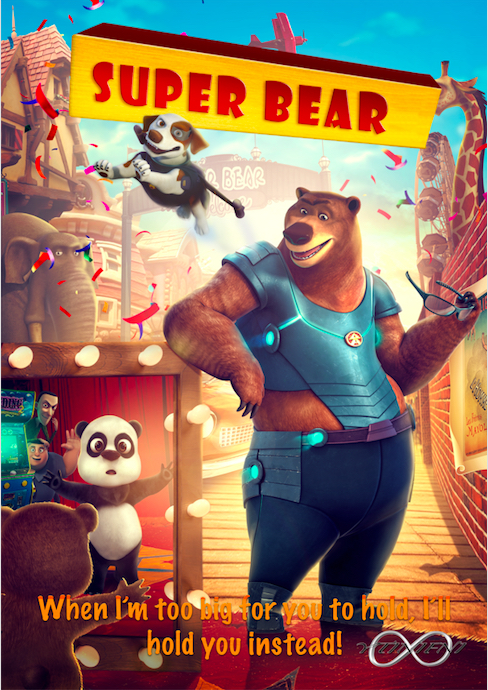 Super Bear (2019) Hindi DUbbed 720p HDRIp Esubs DL