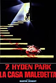 7, Hyden Park: la casa maledetta Poster