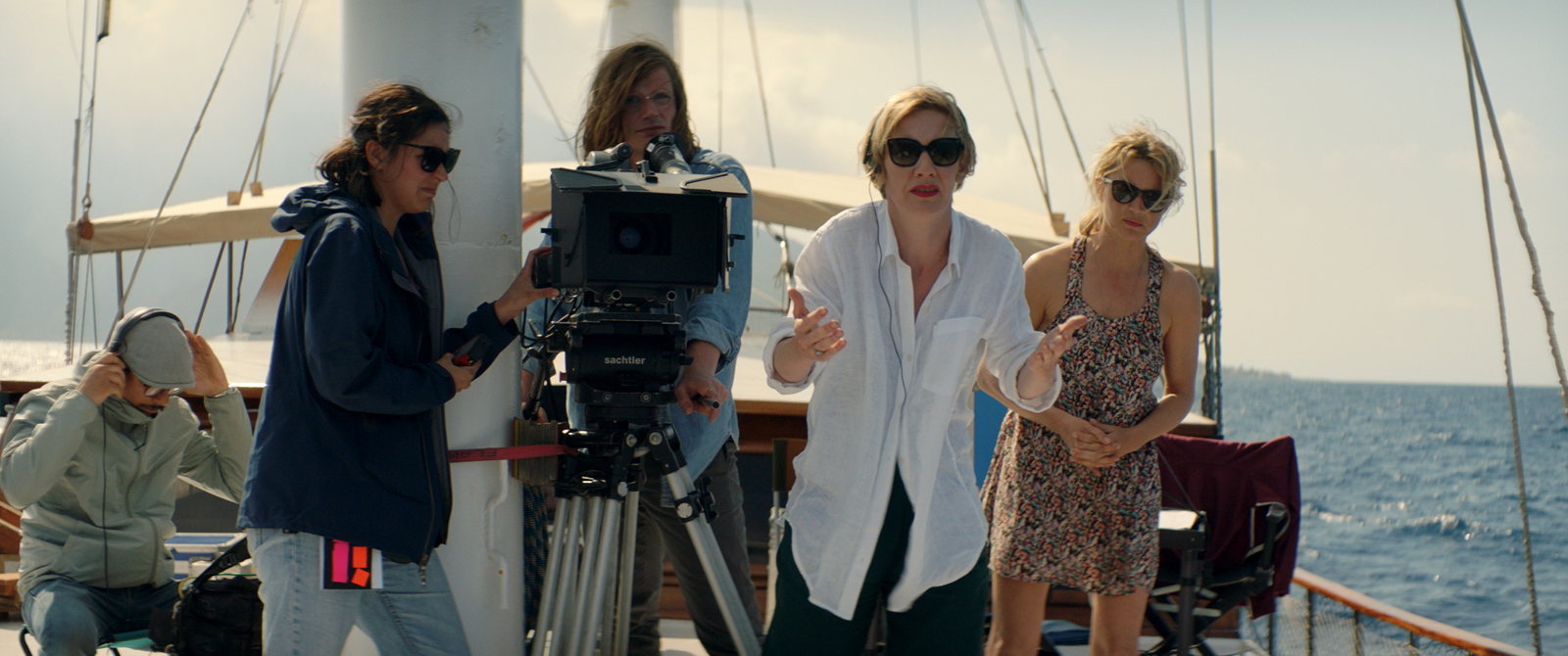Sandra Hüller and Virginie Efira in Sibyl (2019)
