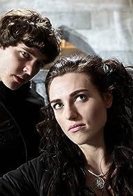 Katie McGrath and Alexander Vlahos in Merlin (2008)