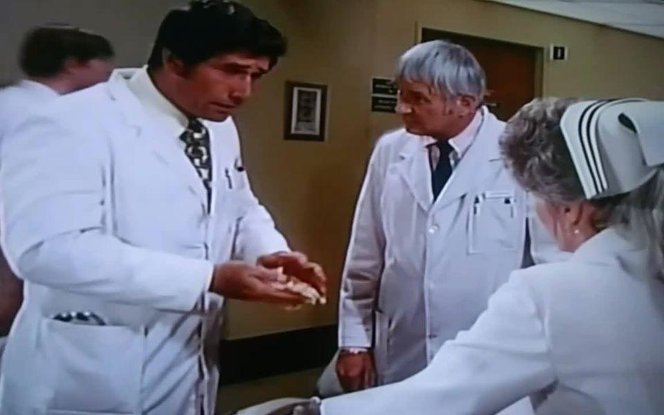Robert Fuller, Julie London, and Bobby Troup in Emergency! (1972)
