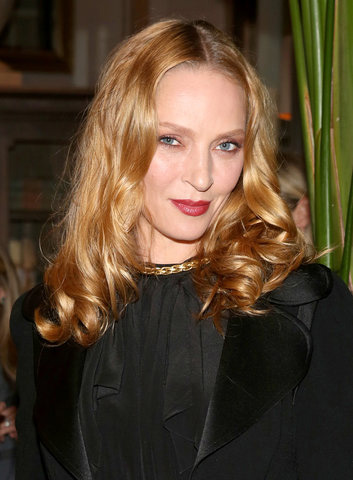 Uma Thurman at an event for Imposters (2017)