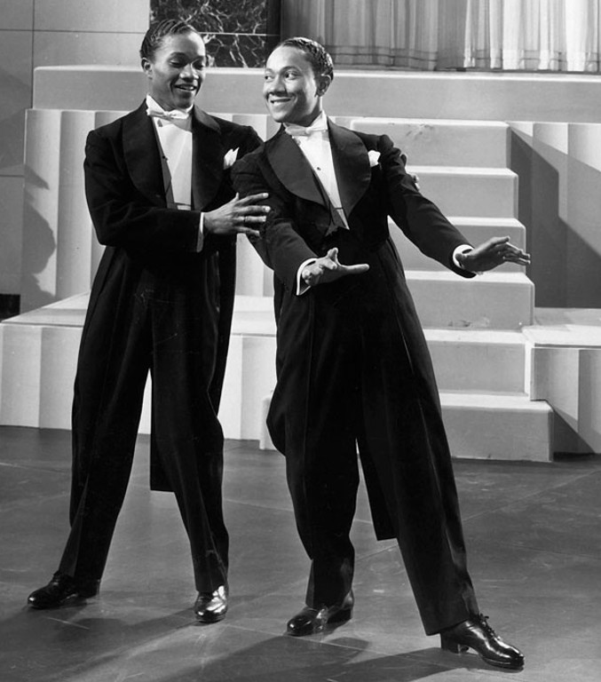 The Nicholas Brothers, Fayard and Harold, in Stormy Weather