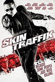 Daryl Hannah, Michael Madsen, Eric Roberts, Mickey Rourke, Dominique Swain, Jeff Fahey, Gary Daniels, Alan Ford, and Ara Paiaya in Skin Traffik (2015)
