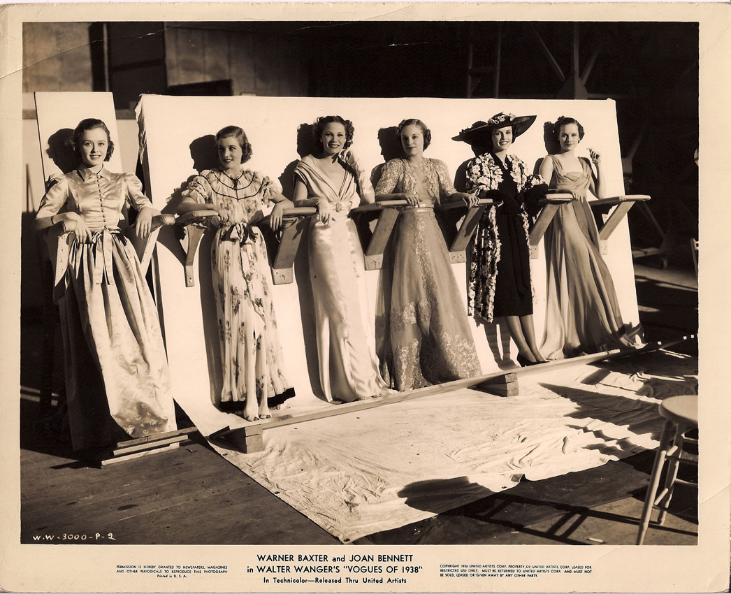 Judith Barrett, Peggy Calvin, Noreen Carr, Mary Oakes, Marla Shelton, and Ida Vollmar in Vogues of 1938 (1937)