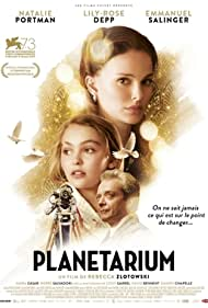 Natalie Portman, Emmanuel Salinger, and Lily-Rose Depp in Planetarium (2016)