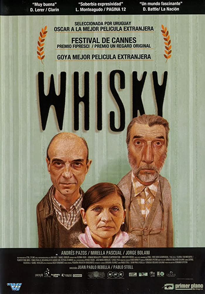 Jorge Bolani, Mirella Pascual, and Andrés Pazos in Whisky (2004)