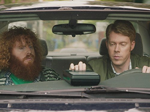 Tim Baltz and Joey Romaine in Shrink (2017)