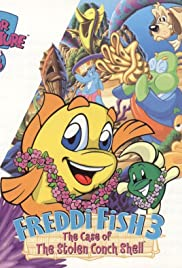 Freddi Fish 3: The Case of the Stolen Conch Shell Poster