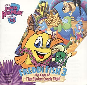 Movie preview watch Freddi Fish 3: The Case of the Stolen Conch Shell by Ron Gilbert [BDRip]