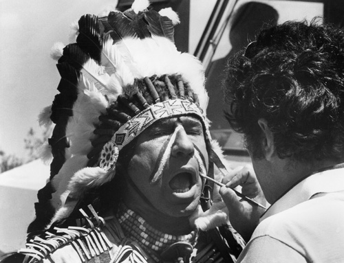 Mel Brooks in Blazing Saddles (1974)