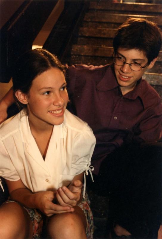 Romi Aboulafia and Michael Hanegbi in Sodot Mishpacha (1998)