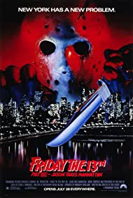 Rob Hedden and Kane Hodder in Friday the 13th Part VIII: Jason Takes Manhattan (1989)