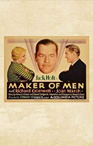 Top 10 sites free movie downloads Maker of Men USA [2160p]