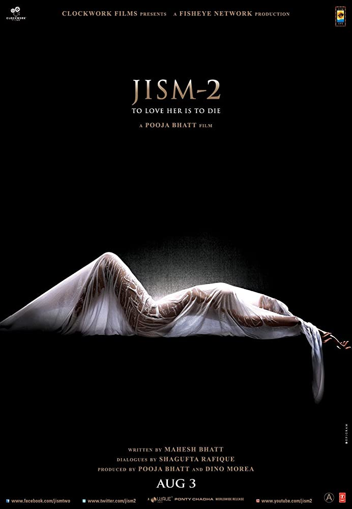 View Jism 2 (2012) Movie poster on SoapGate