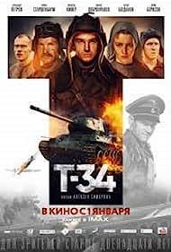 Vinzenz Kiefer, Viktor Dobronravov, Alexander Petrov, Yuriy Borisov, and Irina Starshenbaum in T-34 (2018)