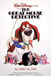 Image result for poster the great mouse detective