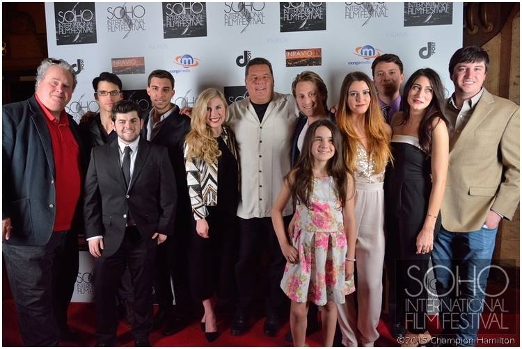 """Cast and crew of """"Chasing Yesterday"""" at SOHO International Film Festival"""