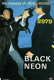Black Neon Poster