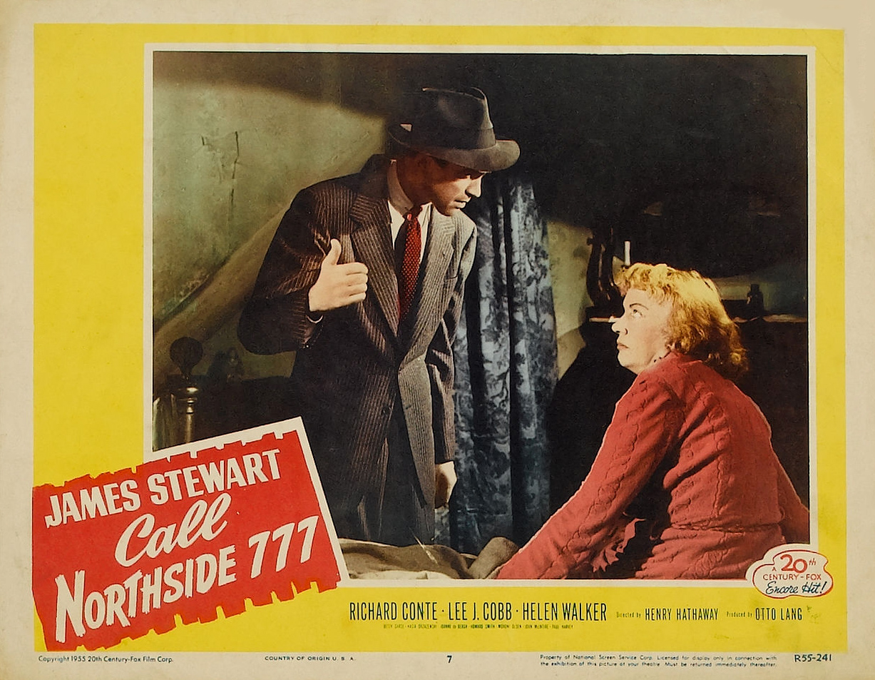 James Stewart and Betty Garde in Call Northside 777 (1948)