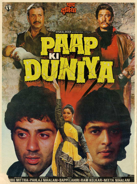 Paap Ki Duniya (1988) Hindi Movie 720p HDRip 1.4GB Download