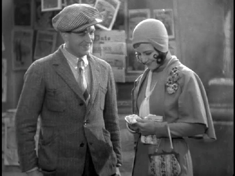 Pola Illéry and Albert Préjean in Sous les toits de Paris (1930)