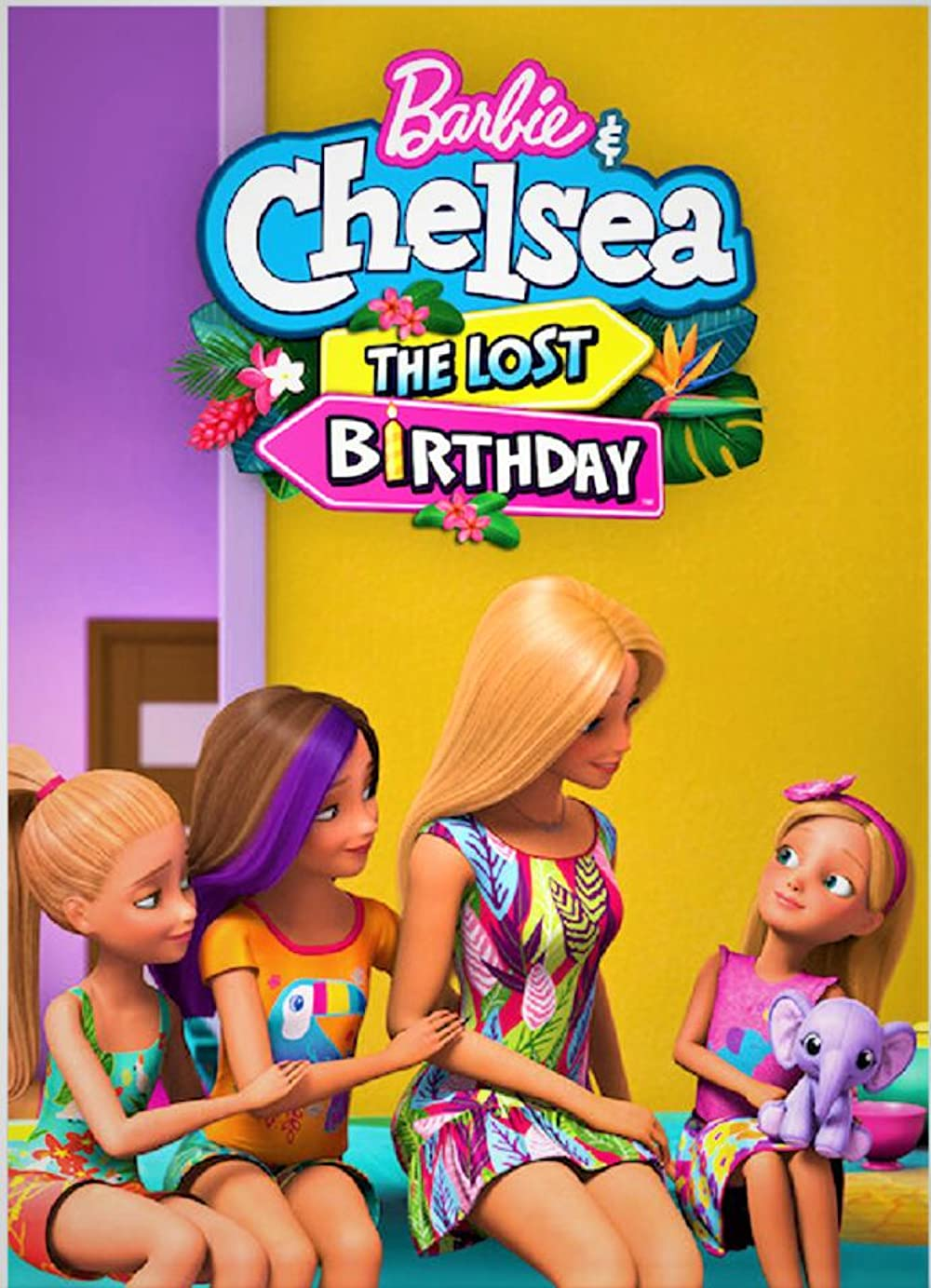 Barbie & Chelsea the Lost Birthday 2021 English 720p HDRip 800MB | 200MB Download