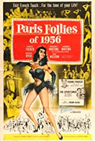 Martha Hyer, Frank Parker, Forrest Tucker, Dick Wesson, Barbara Whiting, Margaret Whiting, and The Sportsmen Quartet in Paris Follies of 1956 (1955)