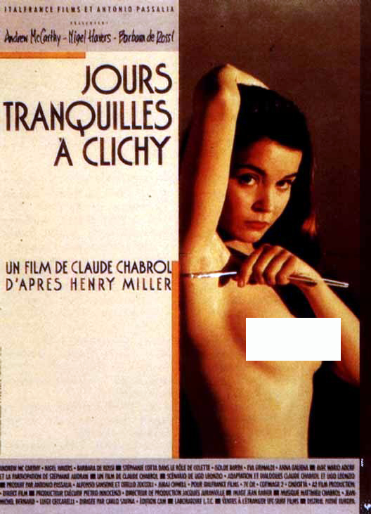 [18+ Quiet Days in Clichy 1990 Unrated Bluray 720p Hindi [Erotic Movie]