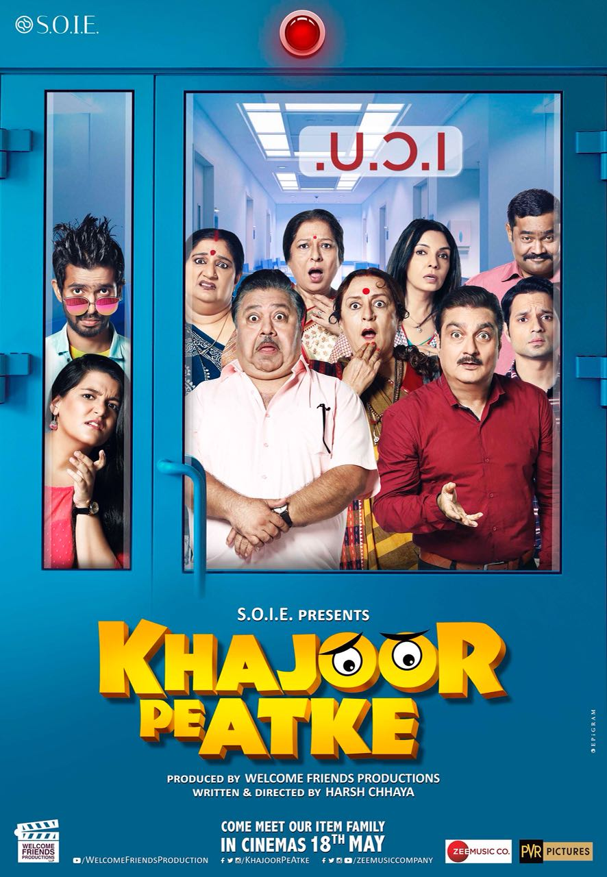 Khajoor Pe Atke 2018 Hindi Full Movie Download HDTVRip 480p 330MB