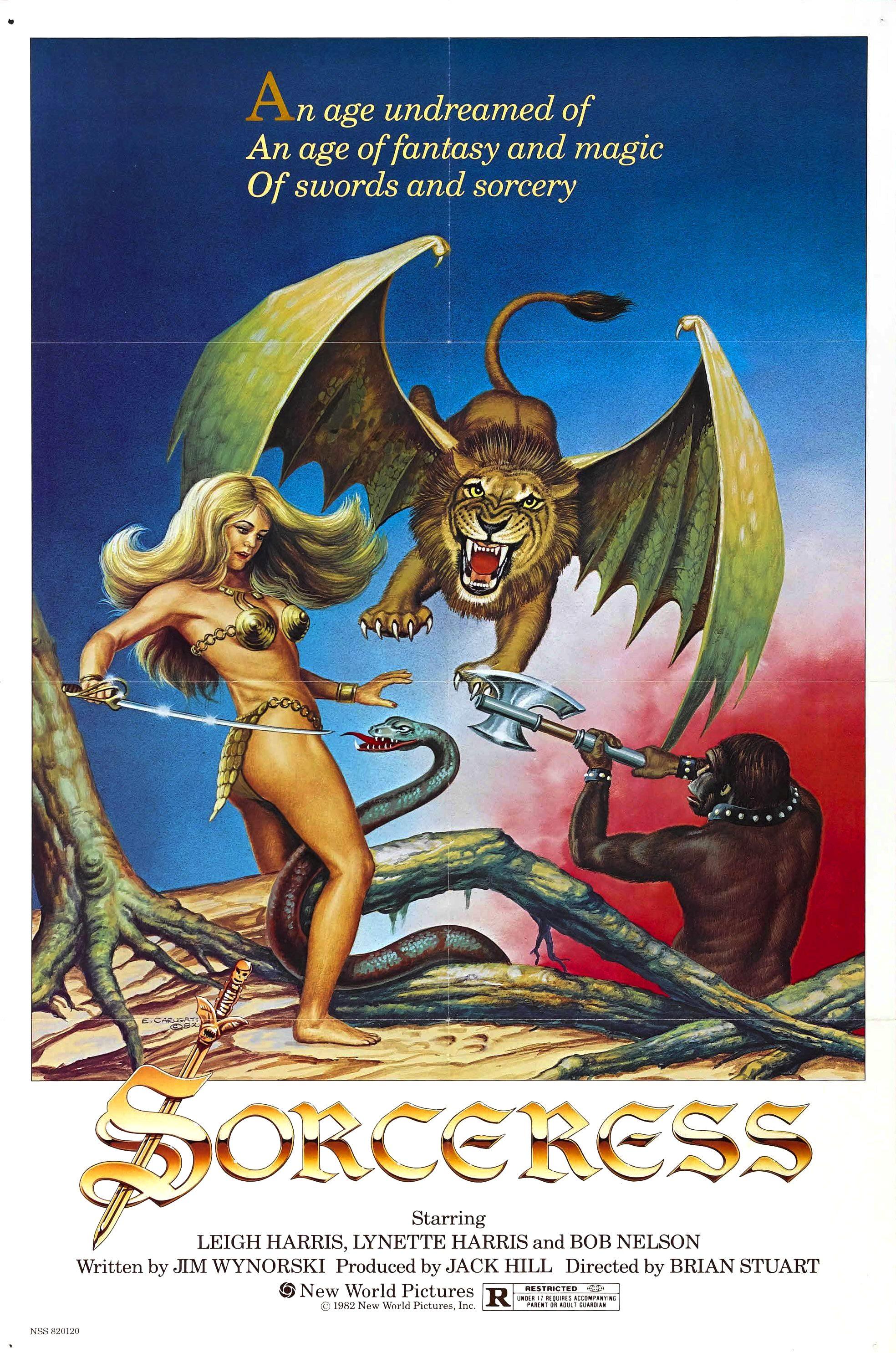 Sorceress (1982) UNRATED 720p | 480p  BluRay [Dual Audio] [Hindi DD 2.0 – English 2.0] x264