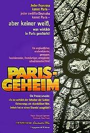 Paris Secret Poster