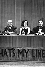 Hal Block, Bennett Cerf, John Daly, Arlene Francis, and Dorothy Kilgallen in What's My Line? (1950)