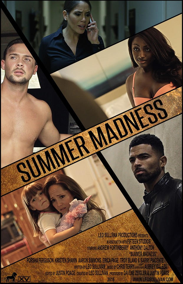 Andrew Fortinberry, Anthony Dalton, Justin Poage, Erica Page, Porsha Ferguson, and Kristen Shawn in Summer Madness