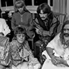 John Lennon, George Harrison, Ringo Starr, Maharishi Mahesh Yogi, and Maureen Starkey in George Harrison: Living in the Material World (2011)