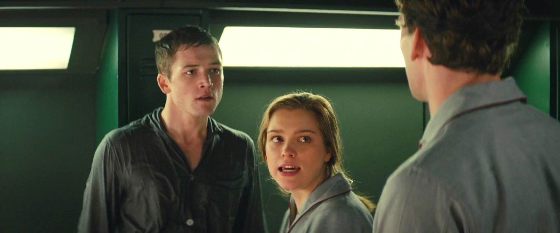 Taron Egerton, Edward Holcroft, and Sophie Cookson in Kingsman: The Secret Service (2014)