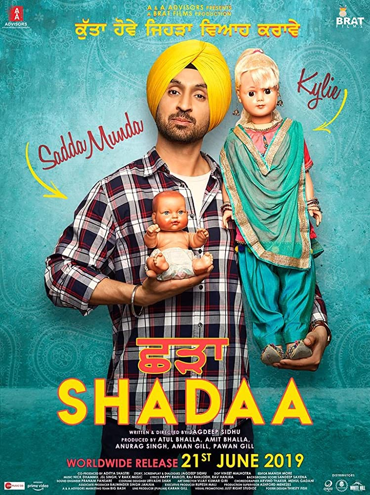 Shadaa (2019) Punjabi Movie 480p HDRip x264 ESubs 450MB