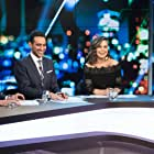 Lisa Wilkinson, Rachel Corbett, Dave Thornton, and Waleed Aly in The 7PM Project (2009)