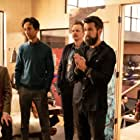 F. Murray Abraham, David Hornsby, Rob McElhenney, Charlotte Nicdao, and Danny Pudi in Mythic Quest: Raven's Banquet (2020)