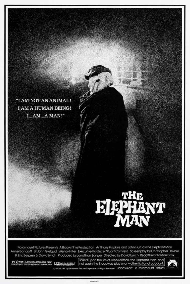 DRAMBLIAŽMOGIS (1980) / THE ELEPHANT MAN