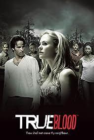 Anna Paquin, Ryan Kwanten, Stephen Moyer, Sam Trammell, Nelsan Ellis, and Rutina Wesley in True Blood (2008)