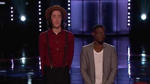 The Voice: Live Finale: Damien