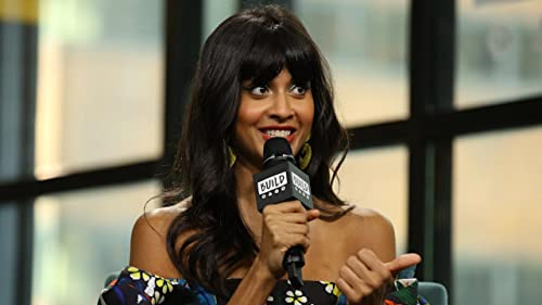 BUILD: Jameela Jamil Sobbed After Saying Goodbye to Ted Danson