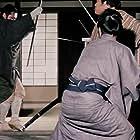 Shintarô Katsu and Osamu Ôkawa in Zatôichi goyô-tabi (1972)