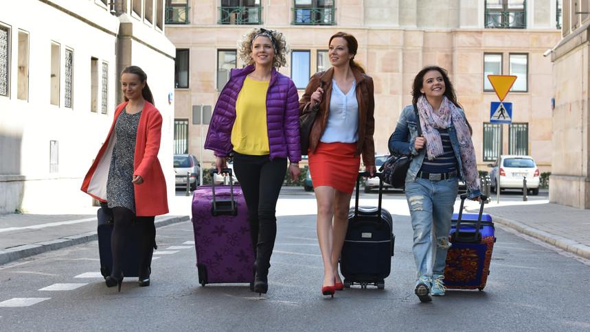 Anna Maria Buczek, Anna Gorajska, Katarzyna Ucherska, and Magdalena Wróbel in Dziewczyny ze Lwowa (2015)
