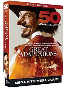 Websites for watching free english movies Great Adaptations: 50 Movie Mega Pack [mts]