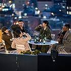 Chris Lyon, Ryu Kyung-Soo, Seo Jun Park, Joo-Young Lee, and Kim Da-Mi in Itaewon Keullasseu (2020)