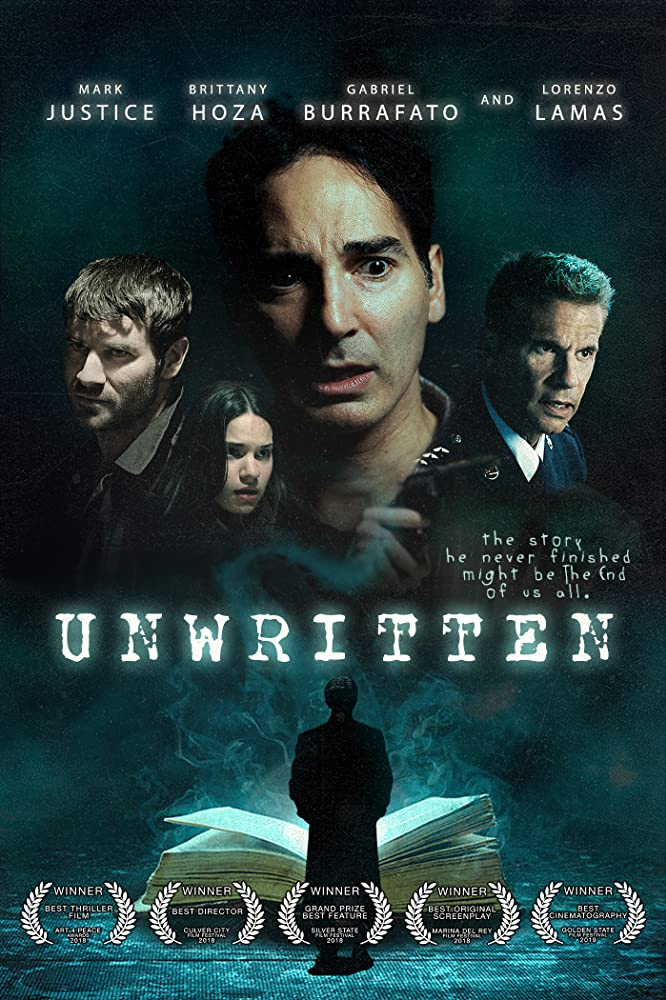 Unwritten (2019) English 720p HDRip 800MB ESubs