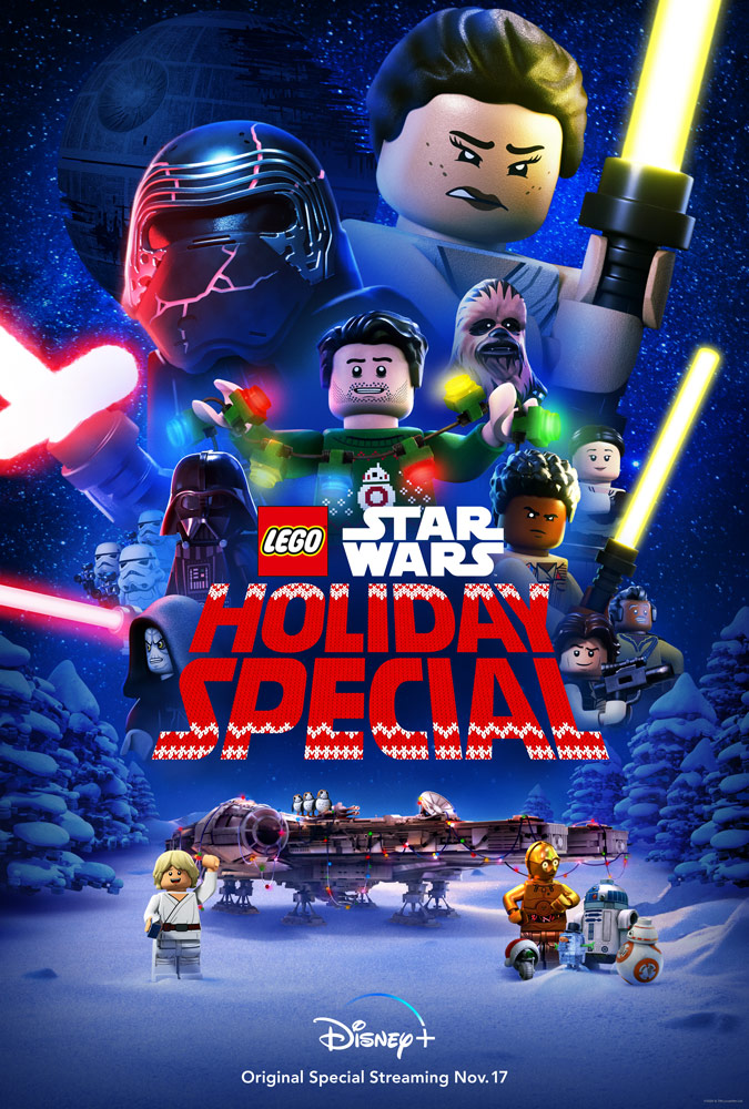 The Lego Star Wars Holiday Special 2020 English 720p HDRip ESubs 397MB Download