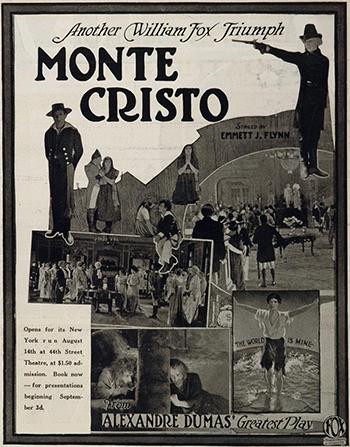 Ralph Cloninger, Al W. Filson, John Gilbert, Robert McKim, William V. Mong, Albert Prisco, George Siegmann, and Estelle Taylor in Monte Cristo (1922)